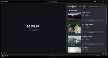 KMPlayer for Windows 7